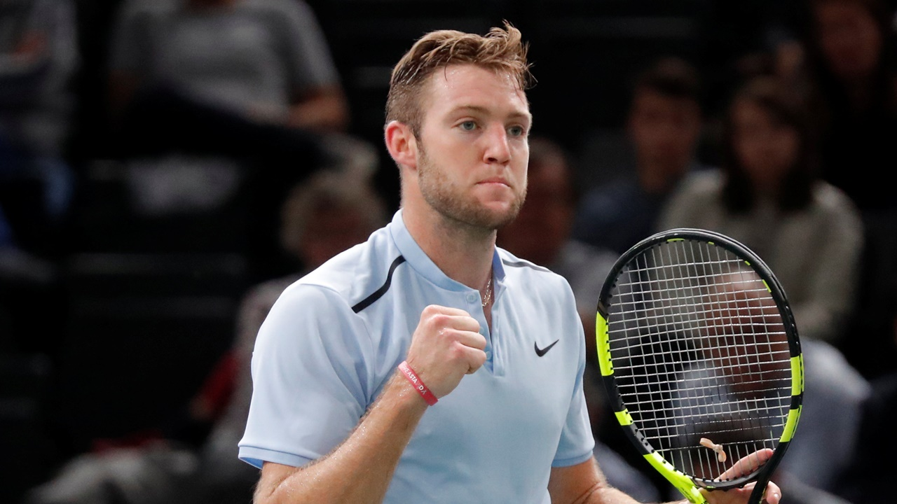 Jack Sock needs a win to qualify for the World Tour Finals...