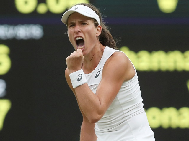 Iron will - Johanna Konta has fought through more than 10 hours of tennis