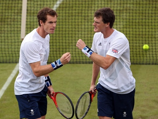 Creative tension . . . Andy and Jamie Murray