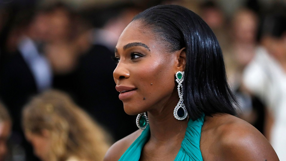 A 21st century woman . . . but Serena Williams has to return under 20th century rules
