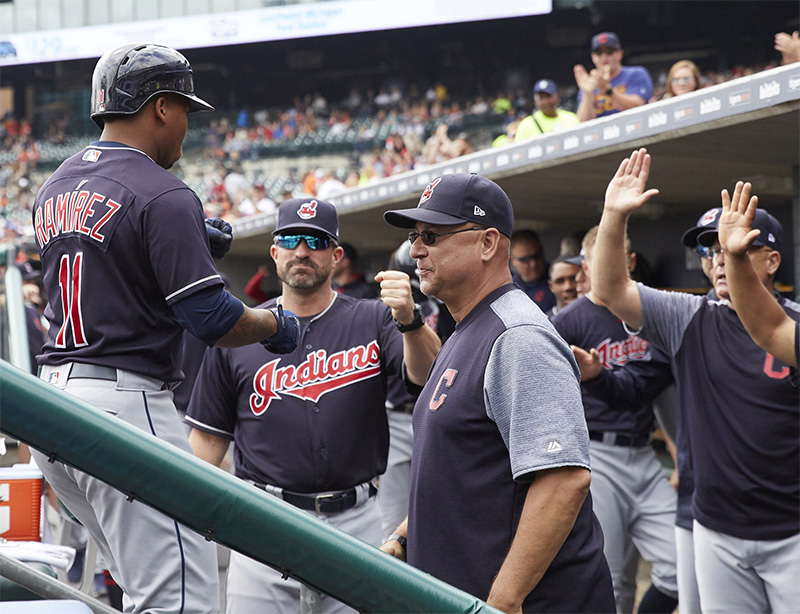 Jose Ramirez will take aim at leading the Cleveland Indians to World Series glory