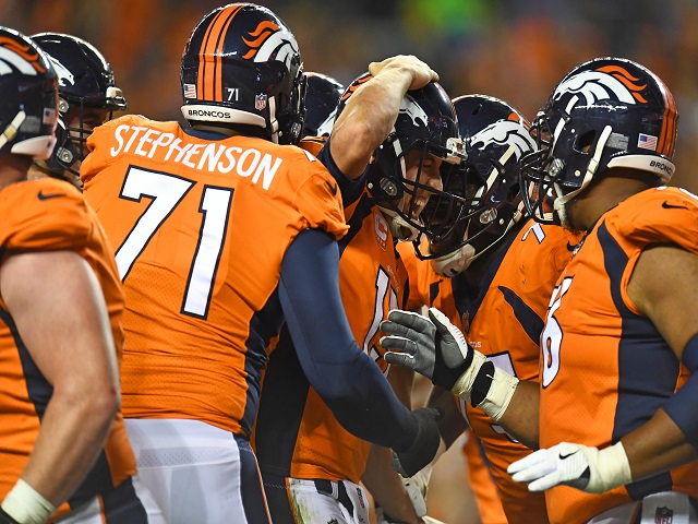 Head over heels: inexperienced Trevor Siemian toughed it out in Week 1, but could be sent tumbling by Dallas