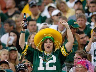 Packers fans can keep on smiling...