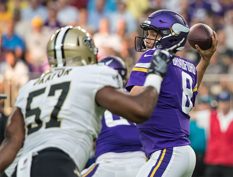 Mike Carlson thinks the return of Sam Bradford could be the difference