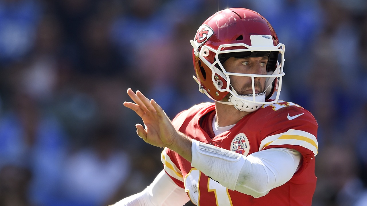 Alex Smith is the league MVP through six weeks of the NFL season