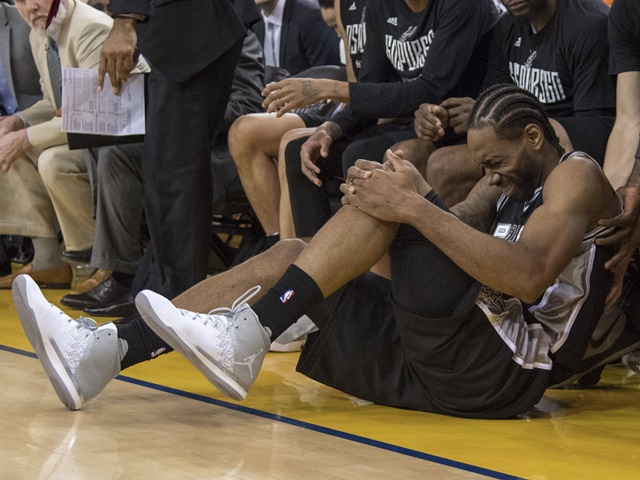 Kawhi Leonard is currently rated as questionable for game three