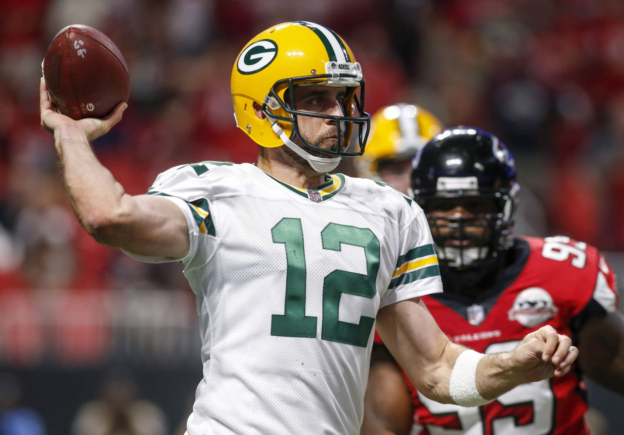 Watching Aaron Rodgers is like viewing a great artist at an easel