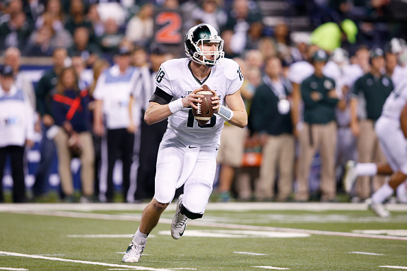 Connor Cook and the Michigan State Spartans can pull off the huge upset over Alabama